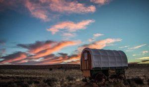 Page Arizona Sheep Wagon at Shash Dine 1
